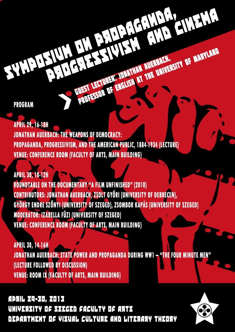 Symposium on Propaganda, Progressivism, and Cinema
